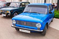 Automobile russa d'annata Lada-2101 immagine stock