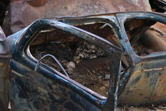 Automobile scartata Fotografia Stock