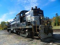 Automobile scenica dello scambista della strada della ferrovia di Adirondack Immagini Stock Libere da Diritti