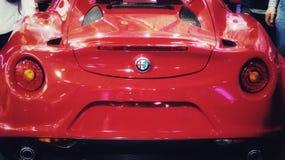 Automobile scoperta a due posti 2017 di Alpha Romeo Fotografia Stock