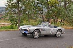 Automobile scoperta a due posti di BMW 507 (1956) fotografia stock libera da diritti