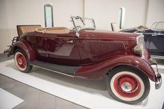 Automobile scoperta a due posti 1934 di Ford Immagini Stock