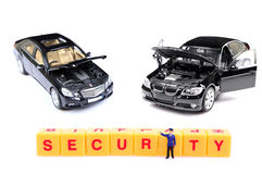 Automobile security Stock Photo