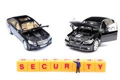 Automobile security. Concept image of automobile security Stock Photo