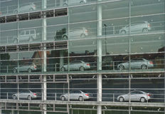 Automobile Showroom Royalty Free Stock Image
