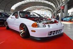 Automobile sintonizzata, Honda CRX del Sol Immagine Stock Libera da Diritti