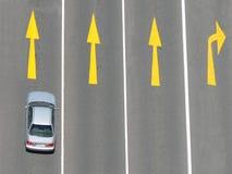 Automobile sola Fotografia Stock