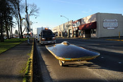automobile Solare-alimentata Fotografia Stock