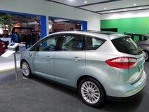 Automobile solare C-massima di concetto di Ford Energi Fotografia Stock