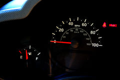 Automobile speedometer Stock Photos