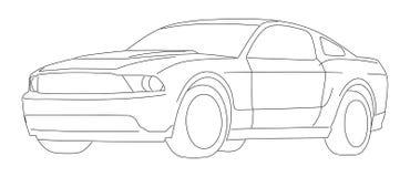 Automobile sportiva -   fotografie stock libere da diritti