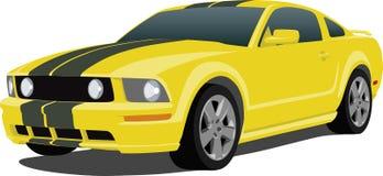 Automobile sportiva 2005 del mustang Immagine Stock Libera da Diritti