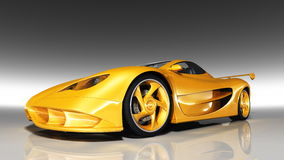 Automobile sportiva fotografie stock libere da diritti