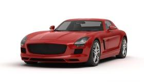 Automobile sportiva alla moda Fotografia Stock Libera da Diritti