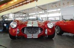 Automobile sportiva alla mostra immagini stock