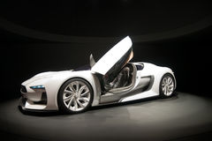 Automobile sportiva bianca fotografie stock