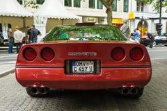 Automobile sportiva Chevrolet Corvette (C4) Targa, 1988 Fotografia Stock Libera da Diritti