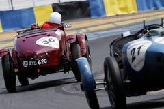 Automobile sportiva, corsa classica 24h della le Mans Fotografie Stock Libere da Diritti
