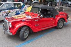 Automobile sportiva d'annata di Fiat Immagine Stock Libera da Diritti