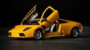 Automobile sportiva del giocattolo Fotografie Stock