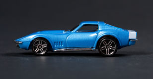 Automobile sportiva del giocattolo immagini stock