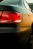 Automobile sportiva del nero di Matt. Immagini Stock