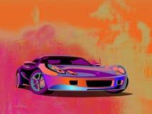 Automobile sportiva dell'illustrazione Immagine Stock Libera da Diritti