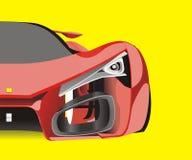 Automobile sportiva dell'insegna 300x250 Fotografia Stock