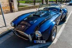 Automobile sportiva della cobra Immagine Stock