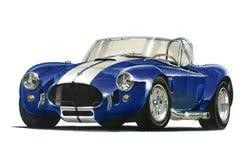 Automobile sportiva della cobra di CA Fotografie Stock