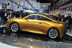 Automobile sportiva della stella di Geely Immagini Stock Libere da Diritti