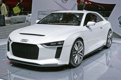 Automobile sportiva di Audi Fotografie Stock Libere da Diritti