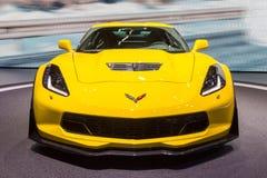 Automobile sportiva di Chevrolet Corvette Z06 fotografia stock libera da diritti