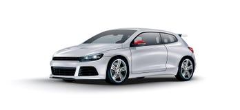 Automobile sportiva di concetto di vettore Fotografia Stock
