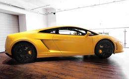 Automobile sportiva di Lamborghini Gallardo Immagini Stock Libere da Diritti