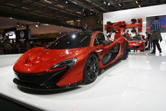 Automobile sportiva di Mclaren Immagine Stock