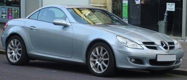 Automobile sportiva di Mercedes Immagine Stock