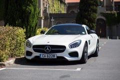 Automobile sportiva di Mercedes Benz AMG GT fotografia stock