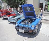 Automobile sportiva di MG Fotografia Stock Libera da Diritti