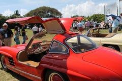 Automobile sportiva e cabina eccellenti classiche di Mercedes Fotografia Stock