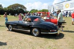Automobile sportiva e cabina eccellenti classiche di Mercedes Immagini Stock Libere da Diritti