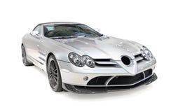 Automobile sportiva grigia Fotografia Stock