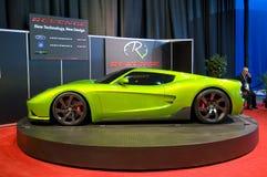 Automobile sportiva ibrida fotografia stock