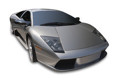 Automobile sportiva, isolata Fotografia Stock