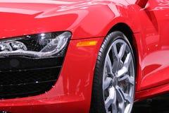 Automobile sportiva isolata Fotografia Stock