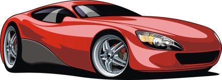 Automobile sportiva isolata Fotografie Stock