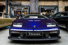 Automobile sportiva Lamborghini Diablo GT, 2001 Fotografie Stock Libere da Diritti