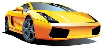 Automobile sportiva moderna Fotografia Stock Libera da Diritti