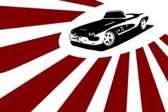 Automobile sportiva piacevole Fotografia Stock
