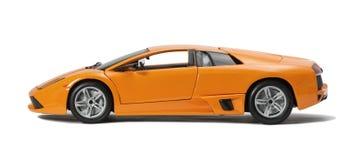 Automobile sportiva raccoglibile del modello del giocattolo Fotografie Stock Libere da Diritti